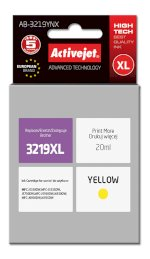 Tusz Activejet AB-3219YNX (do drukarki Brother, zamiennik LC3219Y supreme 20ml yellow)