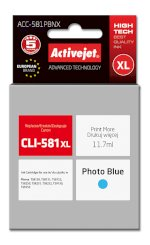 Activejet tusz do Canon CLI-581PB XL new ACC-581PBNX
