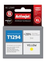 ActiveJet AE-1294R tusz yellow do drukarki Epson (zamiennik T1294)