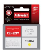 Activejet ACC-521Y tusz yellow do drukarki Canon (zam. CLI-521Y) (w/CHIP)