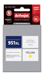 ActiveJet AH-951YRX tusz yellow do drukarki HP (zamiennik HP 951XL CN048AE)